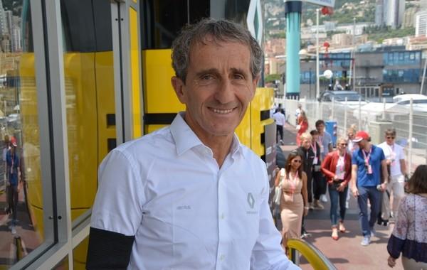 Alain Prost interview Monaco
