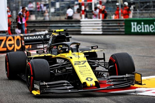 Nico Hulkenberg Monaco 2019