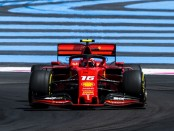 Charles Leclerc course France 2019