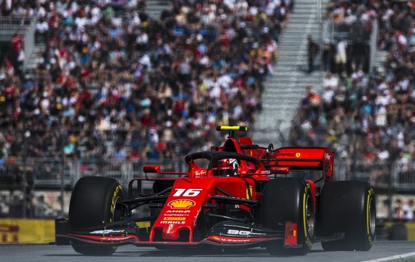 Charles Leclerc qualification Canada 2019