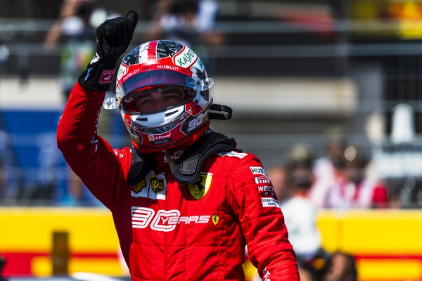 Charles Leclerc qualification Paul-Ricard 2019