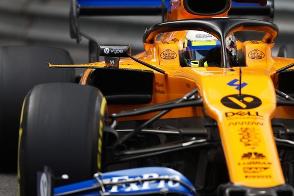 Lando Norris McLaren Monaco 2019