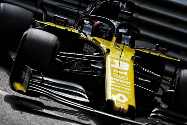 Daniel Ricciardo Monaco 2019