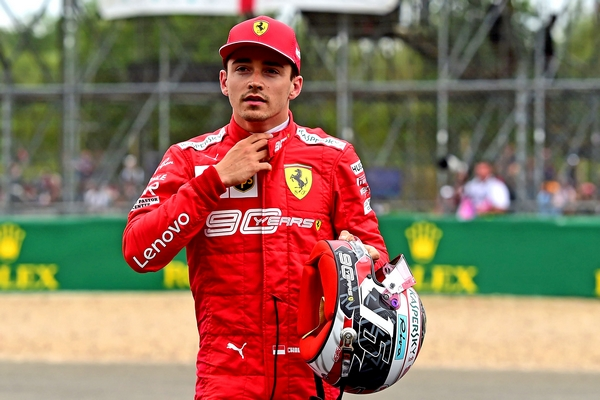 Charles Leclerc qualification Silverstone 2019