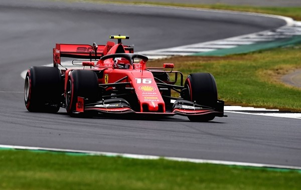 Charles Leclerc qualification Angleterre 2019