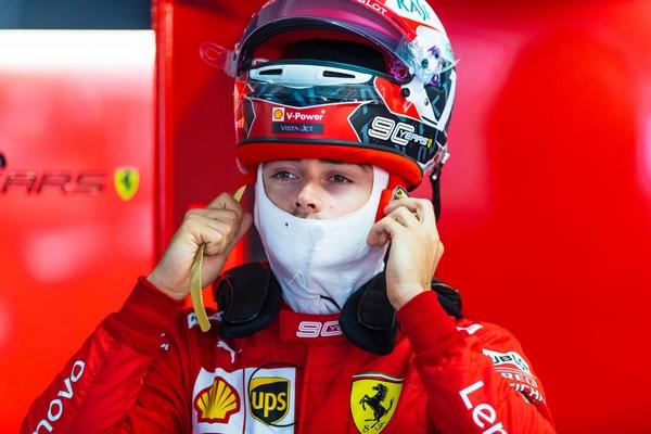 Charles Leclerc course Hockenheim 2019