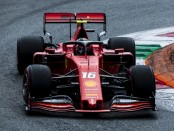 Charles Leclerc course Italie 2019