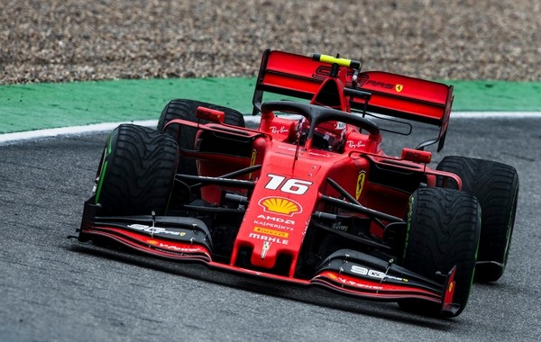 Charles Leclerc course Allemagne 2019
