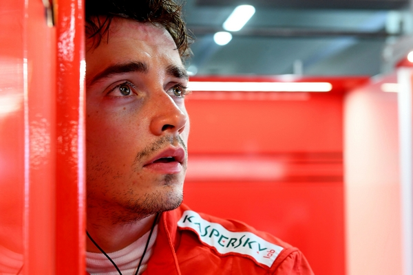 Charles Leclerc qualification Hockenheim 2019