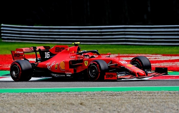 Charles Leclerc qualification Italie 2019
