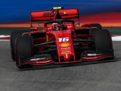 Charles Leclerc qualification Russie 2019