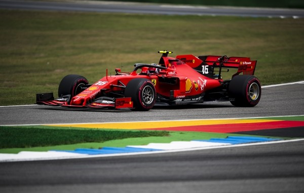 Charles Leclerc qualification Allemagne 2019