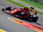 Charles Leclerc qualification Belgique 2019