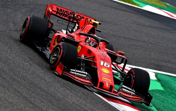 Charles Leclerc qualification Japon 2019