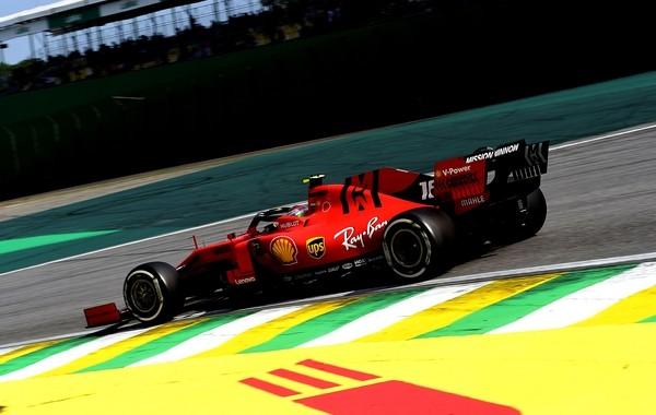 Charles Leclerc course Brésil 2019