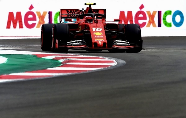 Charles Leclerc qualification Mexique 2019