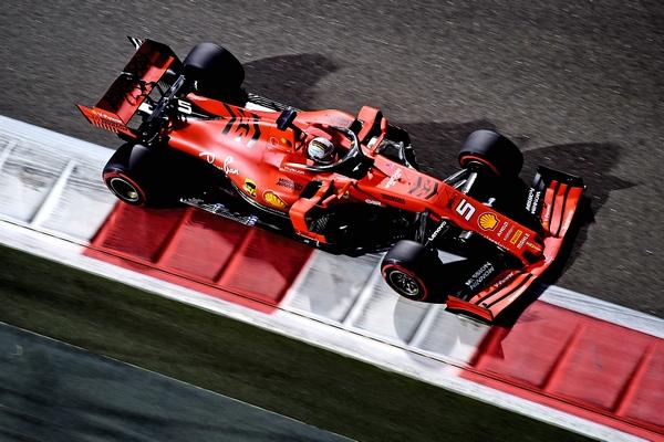 Sebastian Vettel Abou Dhabi 2019