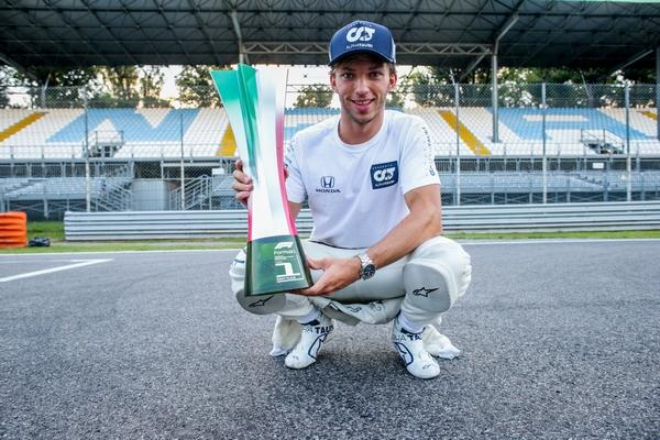 Pierre Gasly Monza 2020