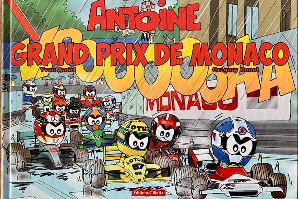 BD Antoine au Grand Prix de Monaco